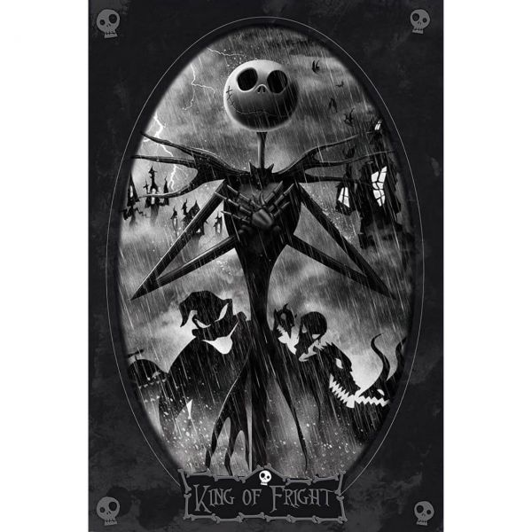Jack Porträt Maxi Poster A Nightmare before Christmas