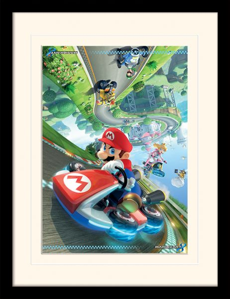 LX – Mario Kart 8: Flip, Gerahmt