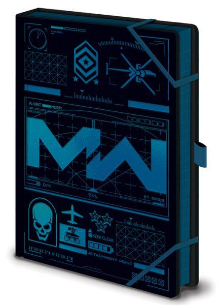 Modern Warfare Premium A5 Notizbuch Call of Duty