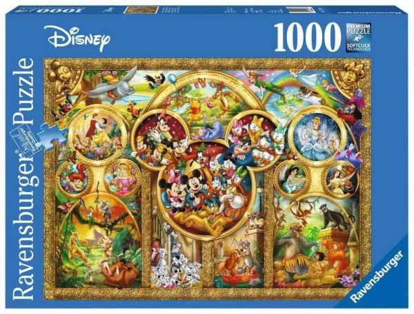 Die schönsten Disney Themen Puzzle Disney