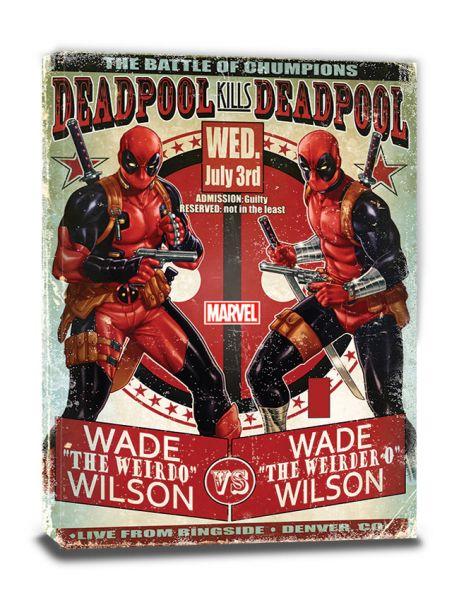 Deadpool (Wade vs. Wade), Leinwanddruck