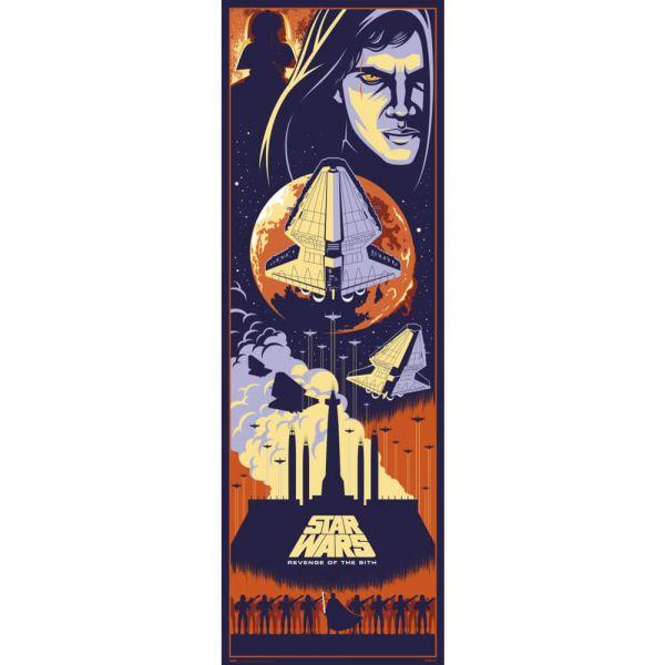 Episode III Die Rache der Sith Tür Poster Star Wars