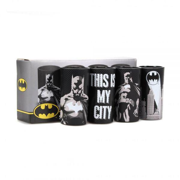 The Dark Knight Batman Gläser 4er-Set DC Comics