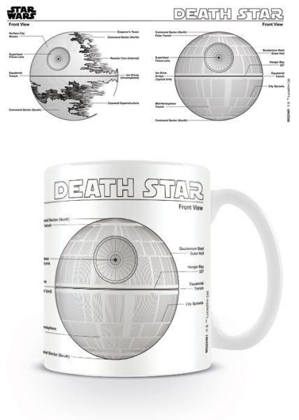 Todesstern Sketch Tasse Star Wars