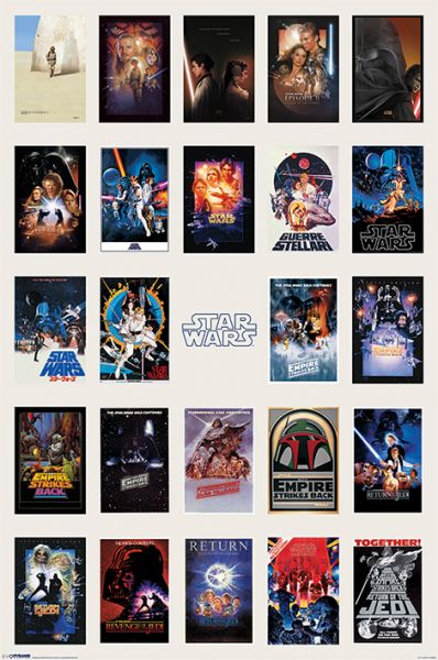 Star Wars (Collage), Maxi Poster