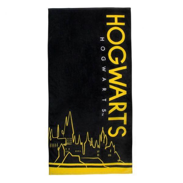 Hogwarts Silhoutte Handtuch Harry Potter