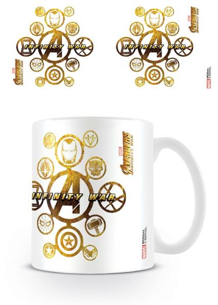 Connecting Icons Avengers Infinity War Tasse Marvel