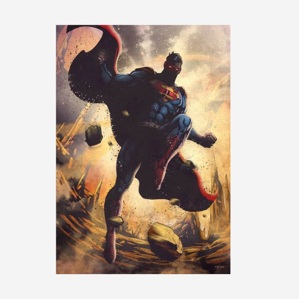 Superman DC Comics Klassiker – Metall Poster