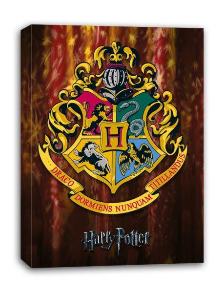 Hogwarts Crest Leinwandbild Harry Potter