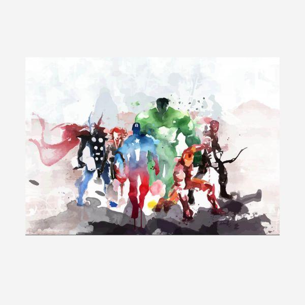Avengers Metall Poster Marvel