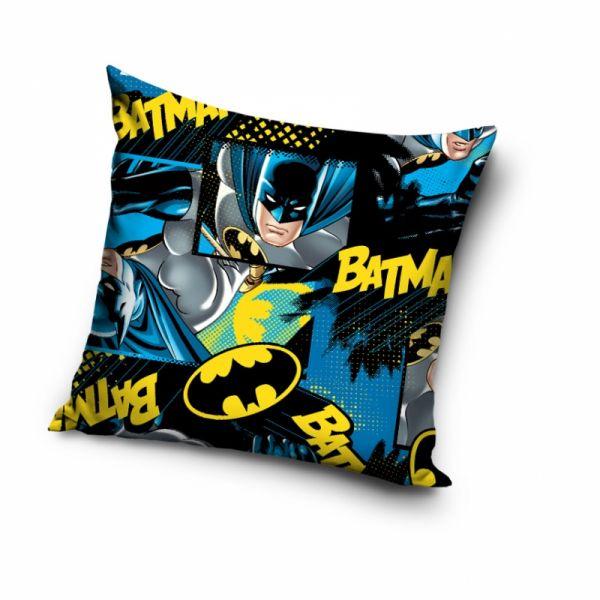 Batman Kissen Comic Kissenbezug inkl. Kissen 40 x 40
