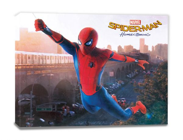 Swing Spider-Man Homecoming Leinwandbild Marvel