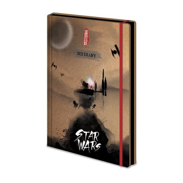 Japanische Edition Tagebuch 2021 Star Wars