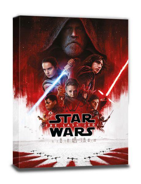 Star Wars: The Last Jedi (One Sheet), Leinwanddruck
