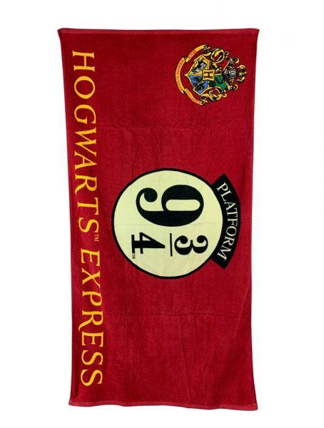 Harry Potter Handtuch Hogwarts Express Gleis 9 3/4