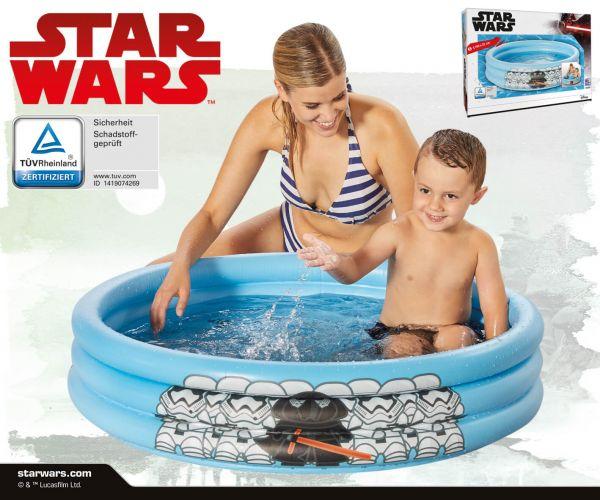 Star Wars 3-Ring Pool Darth Vader/Stormtroopers 100 cm