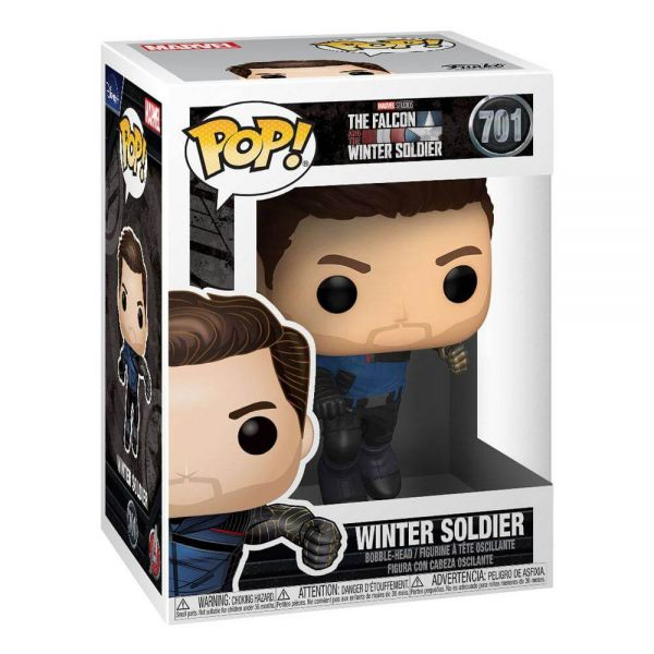 The Falcon and the Winter Soldier POP! Marvel Vinyl Figur Winter Soldier 9 cm Marvel