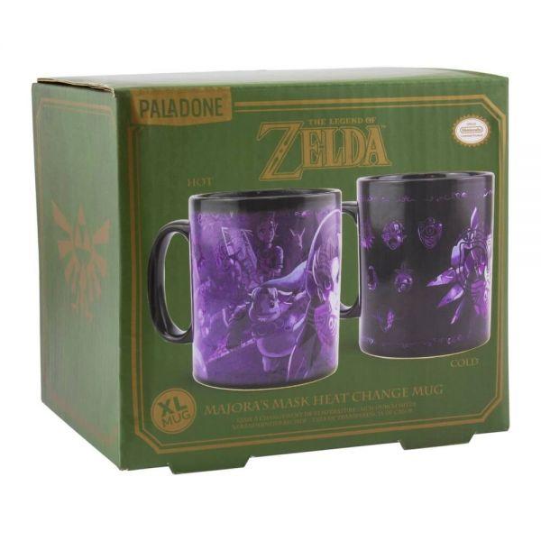 Majoras Maske Zelda Thermoeffekt Tasse Nintendo