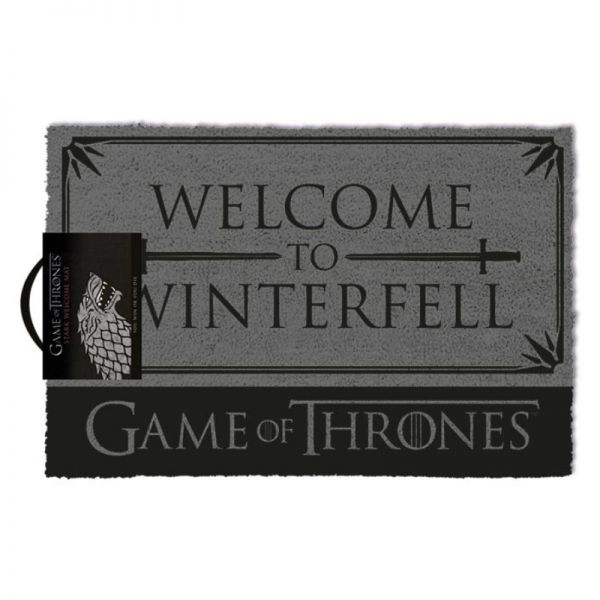 Welcome to Winterfell Fußmatte Game of Thrones