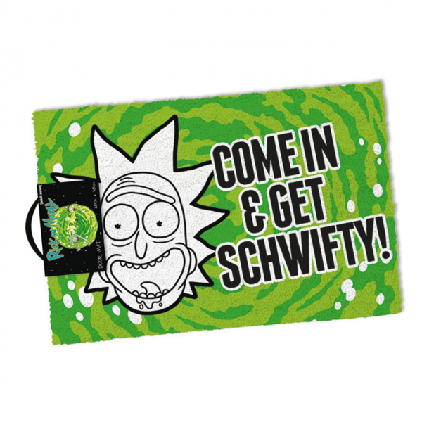 Get Swifty Fußmatte Rick and Morty