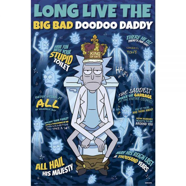 Big Bad Doodoo Daddy Maxi Poster Rick and Morty