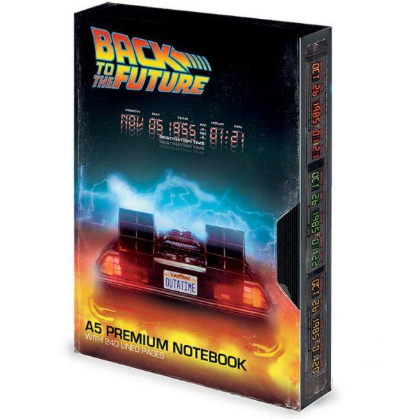Great Scott – VHS Notizbuch Zurück in die Zukunft