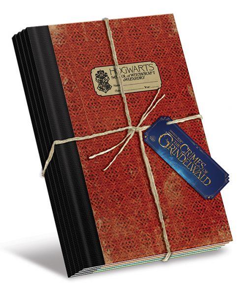 Hogwarts Notizbuch 4er-Set Phantastische Tierwesen 2