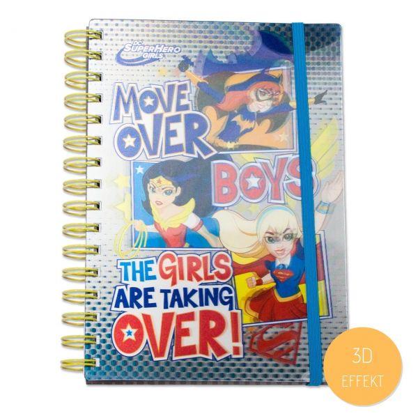 DC Comics: Super Hero Girls Notizbuch