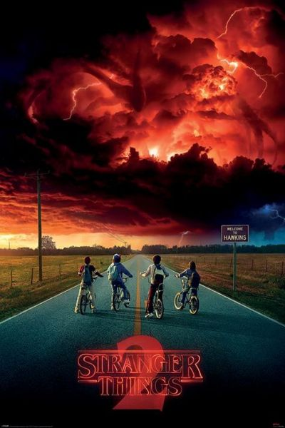 Mind Flayer ST2 Maxi Poster Stranger Things