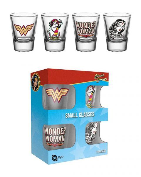 Wonder Woman Shots 4er-Set DC Comics
