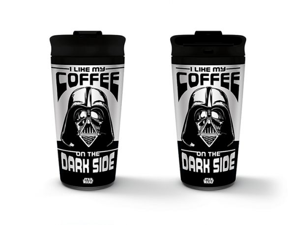 Star Wars (I Like My Coffee On The Dark Side) To-Go-Becher Metall