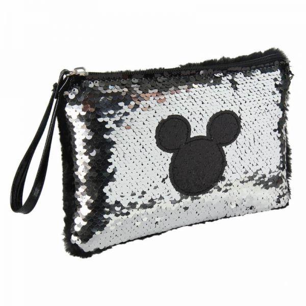 Mickey Mouse silber Pailletten Handtasche Disney