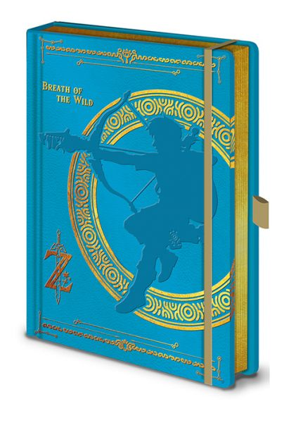 The Legend Of Zelda: Breath Of The Wild Premium Notizbuch