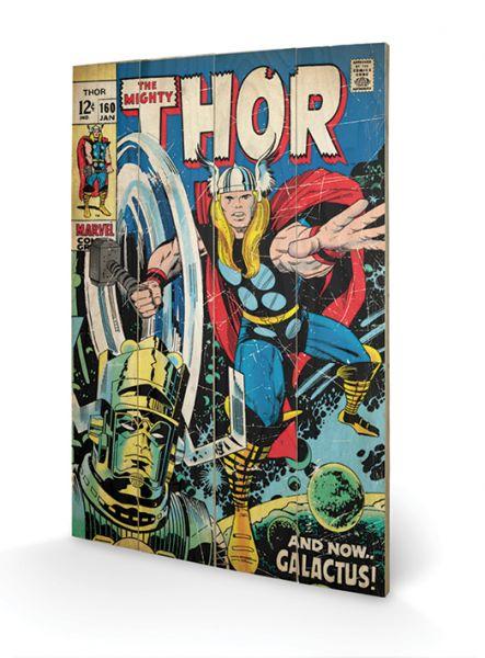 Thor: Galactus, Holzdruck
