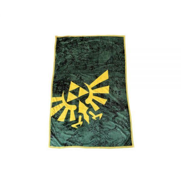 Triforce Zelda Fleece Decke Nintendo