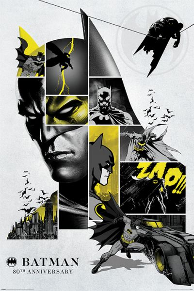 Batman 80th Anniversary Maxi Poster DC Comics