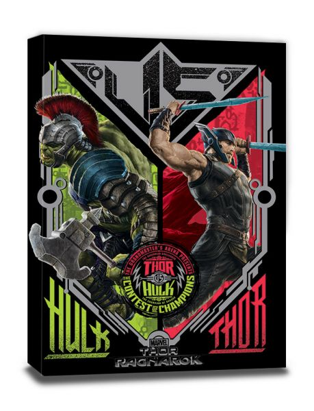 Contest of Champions Thor Ragnarok Leinwandbild Marvel
