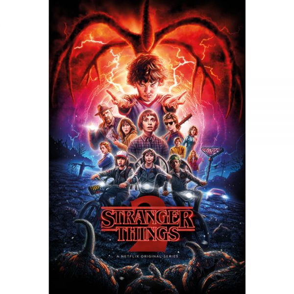 One Sheet Season 2 Maxi Poster Stranger Things