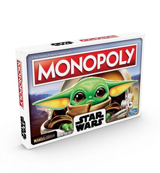 Star Wars The Child Brettspiel Monopoly The Mandalorian