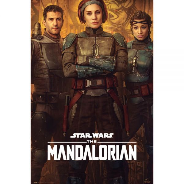 The Mandalorian Bo-Katan Maxi Poster Star Wars