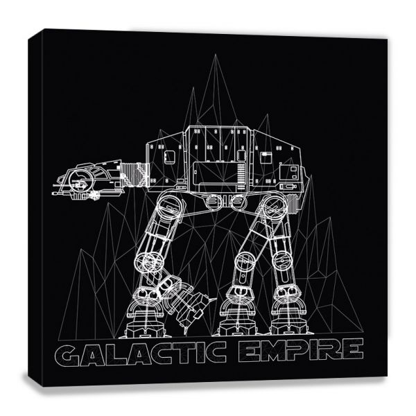 Star Wars: AT-AT, Leinwanddruck