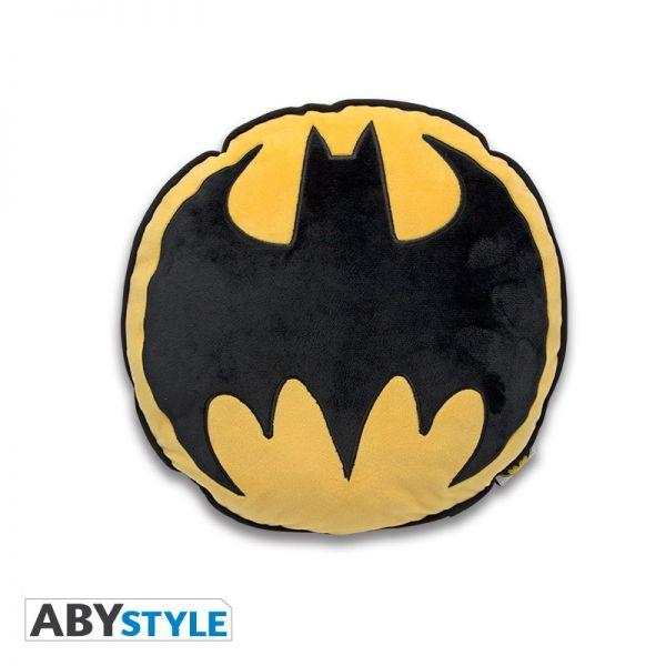 Batman Logo rund Kissen DC Comics