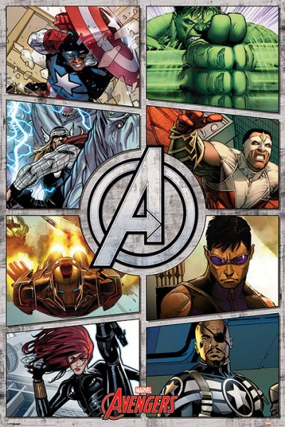 The Avengers: Comics, Maxi Poster, Marvel