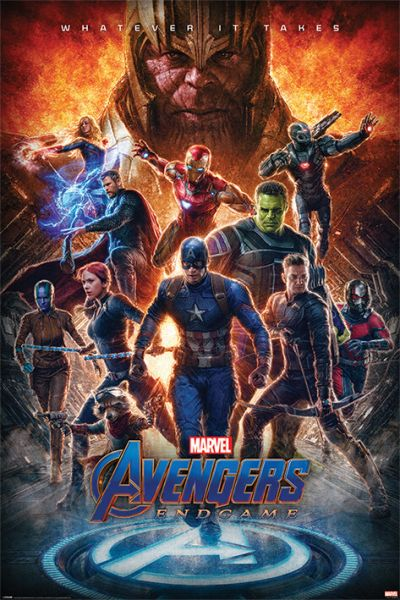 Whatever it Takes Avengers Endgame Maxi Poster Marvel