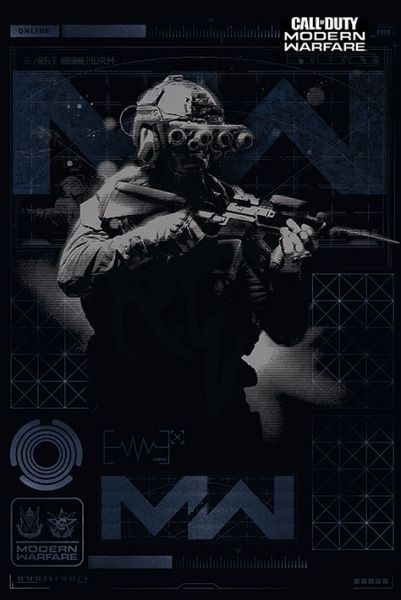Modern Warfare Maxi Poster Call of Duty