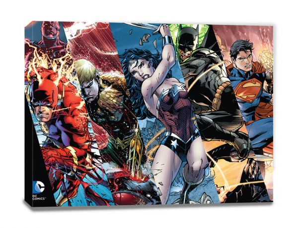 Justice League (Heroes), Leinwanddruck