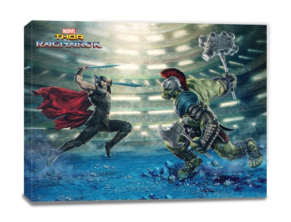 Fight Thor Ragnarok Leinwandbild Marvel