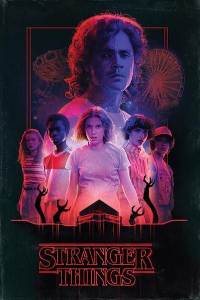 Horror Maxi Poster Stranger Things