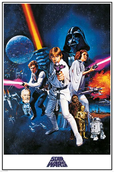 One Sheet A New Hope Maxi Poster Star Wars