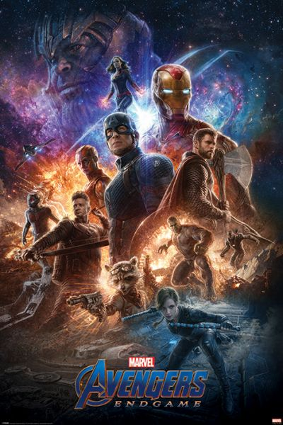 Avengers Endgame (From The Ashes) Maxi Poster
